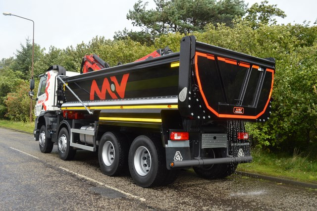 DAF Tipper Grab