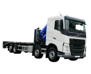 Hire crane trucks from MV Truck and Van Rental