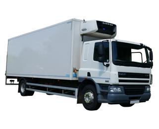 Hire various Fridge trucks from MV Truck and Van Rental