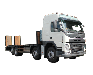 Hire various Beavertail trucks from MV Truck and Van Rental