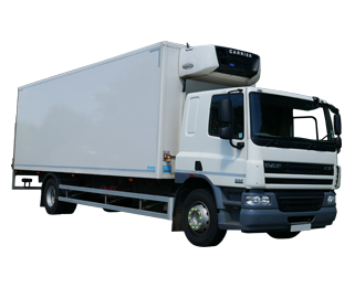 Hire various Fridge trucks from MV Truck and Van Rental