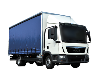 Hire various Curtain Trucks from MV Truck and Van Rental